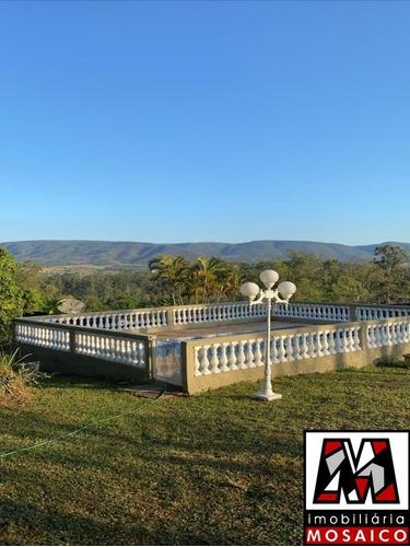 Imagem 1 de 14 de Chácara Térrea Na Serra Do Japi, Com Piscina E Uma Vista Maravilhosa, Com 02 Dormitórios E Várias Vagas, Área Verde - 79867 - 4491286
