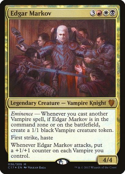 Deck Commander - Edgar Markov