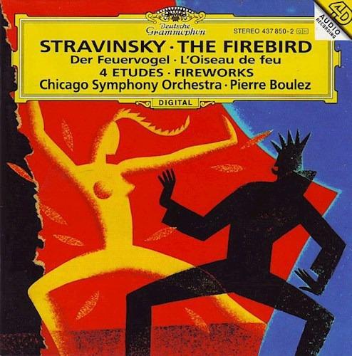 4 Etueden/boulez - Stravinsky (cd)