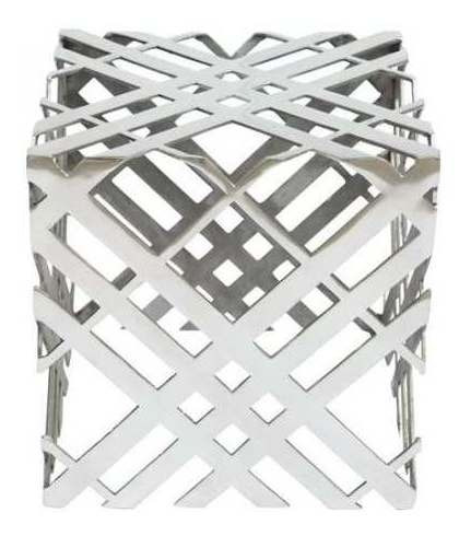 Mesa Lateral Modelo Carlisle - Gris Këssa Muebles