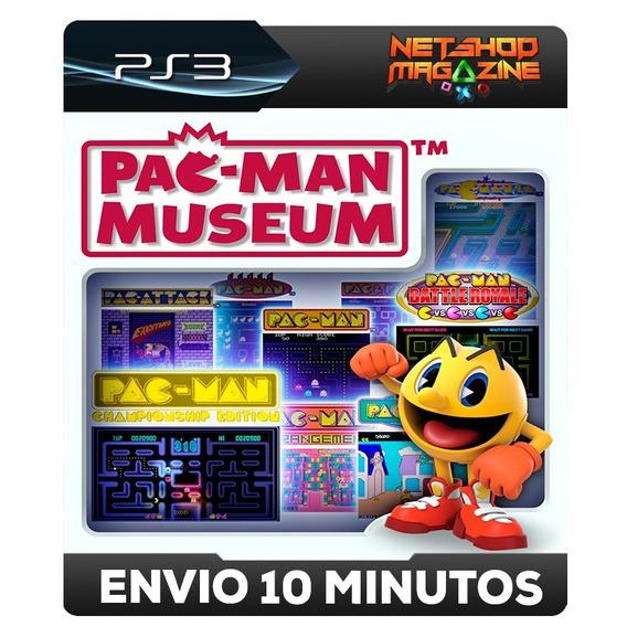 Pac-manmuseum - 9 Titulos - Psn Ps3 - Envio Imediato