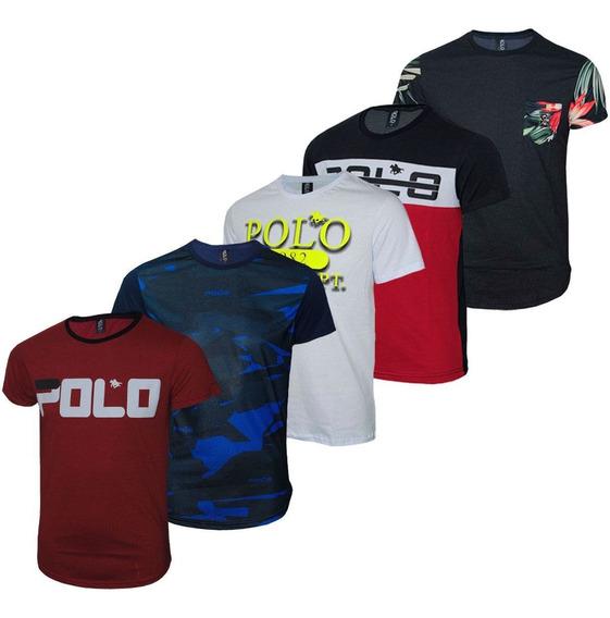 Kit Camisetas Polo Cores Sortidas