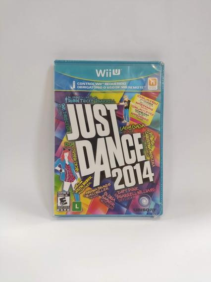 Just Dance 2014 Nintendo Wii U Wiiu Mídia Física Novo