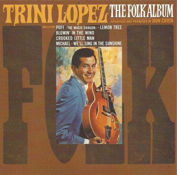 Trini Lopez - The Folk Album ( Cd - Rem - Imp. Usa )