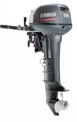 Imagen 1 de 5 de Motor Yamaha 15 Hp 2 Tiempos
