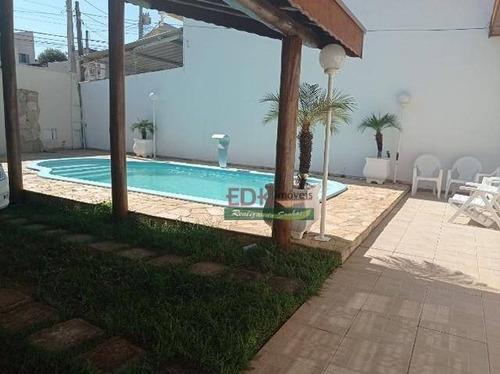 Imagem 1 de 17 de Casa Com 3 Dormitórios À Venda, 230 M² Por R$ 742.000,00 - Jardim Sandra Maria - Taubaté/sp - Ca6182