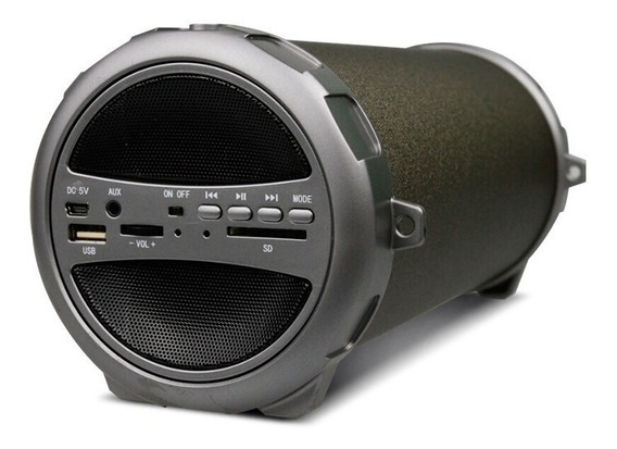 Coolbox - Parlante Bluetooth Con Subwoofer S-11 Marrón