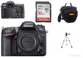 Câmero Nikon D7200 (somente Corpo)+bolsa+32gb+tripé