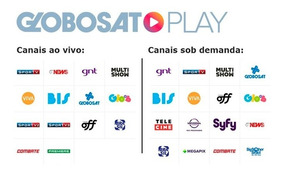 Promoção!.globosat-play-premium, 12.mês