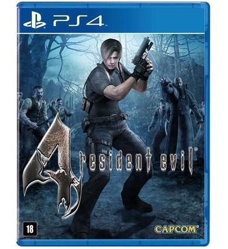 Resident Evil 4 Ps4 Novo