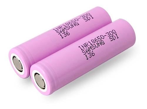 Bateria De Litio Recargable Samsung 18650 3.7v 3ah