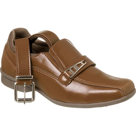 Sapato Social Com Cinto Infantil Menino Redmax A/b927-603
