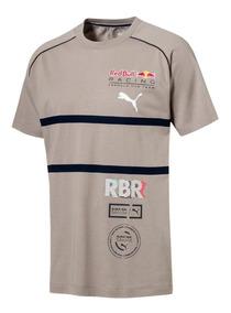 Camiseta Puma Red Bull Speedcat Evo Tee Areia