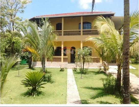 Chácara Para Venda Em Juquiá, Rural, 5 Dormitórios, 2 Banheiros, 10 Vagas - In021