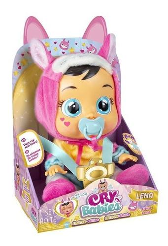 Imagem 1 de 6 de Boneca Lena Chora Lágrimas De Verdade Cry Babies Multikids