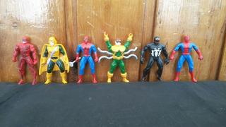 Lote X6 Figuras Spiderman Miniaturas Marvel Los Germanes