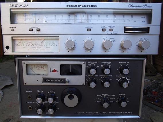 Marantz Sr1000 N Gradiente Cce Pioneer Sansui Polyvox Sony Troco Em Tuner Receiver Ou Deck Marantz Antigo Preço Na Descr