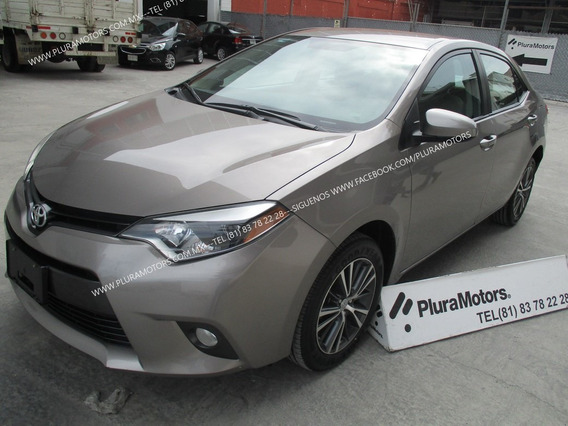 Toyota Corolla 2016 Le Automática Eléctrica Rines $209,000