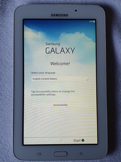 Tablet Samsung Galaxy Kids Tab E Lite Sm-t113 7 8gb Blanca