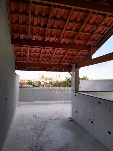 Cobertura À Venda, 76 M² Por R$ 310.000,00 - Parque Capuava - Santo André/sp - Co4432