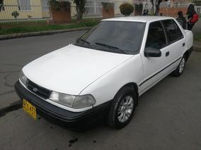 Hyundai Excel Ls Mt1500cc Blanco Aa Dh