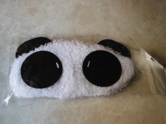 Oso Panda Antifaz Para Dormir Protector De Luz Anime Viajero
