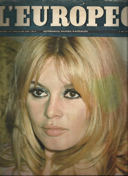 Revista L`europeo Brigitte Bardot