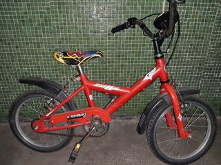 Bicicleta Infantil Rodado 14 Hombre Araña Varon