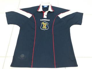 Camisa Da Seleção Da Escócia Da Umbro Tam. G