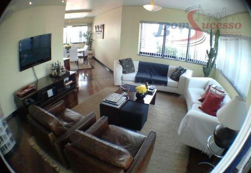 Imagem 1 de 25 de Apartamento Com 4 Dormitórios À Venda, 250 M² Por R$ 1.370.000,00 - Jardim Avelino - São Paulo/sp - Ap0139