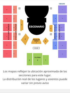 Boleta Circo Del Sol Ovo Medellin