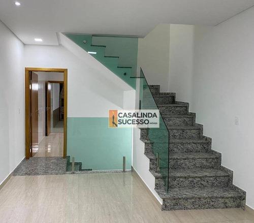 Sobrado Com 3 Dormitórios À Venda, 200 M² Por R$ 890.000,00 - Penha - São Paulo/sp - So1132