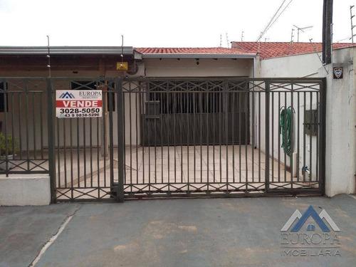 Imagem 1 de 27 de Casa À Venda, 270 M² Por R$ 500.000,00 - Cafezal - Londrina/pr - Ca1347