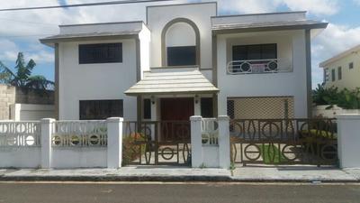 Vendo Casa En Nagua 2 Niveles 3hab 4 Baños 390m2 Terreno