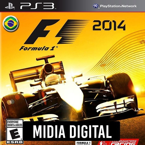 Ps3 Psn* - F1 2014 Formula 1 Portugues