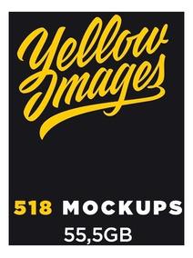 1.000 Mockups Yellow