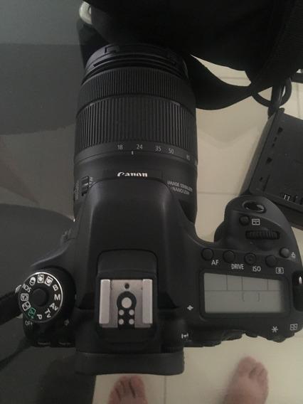 Canon 80d + Lente 18-135mm