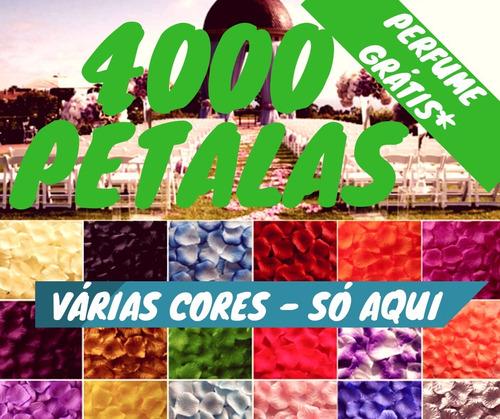Imagem 1 de 6 de 4000 Pétalas De Rosa Artificias Decoração Perfumadas Decora