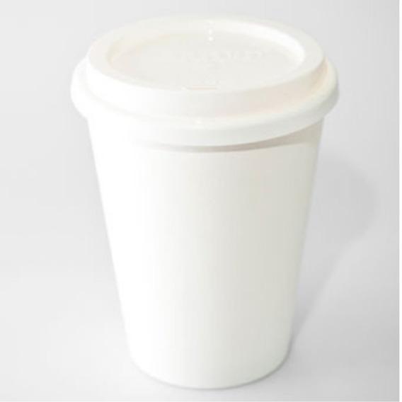 Vaso Térmico Biodegradable 10oz C/tapa Paquete 200 Pzs