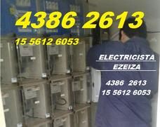 Ezeiza Electricista Matriculado Toda Zona Sur