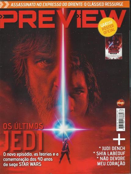 Revista Preview Star Wars Os Últimos Jedi Ed:98 Novembro2017