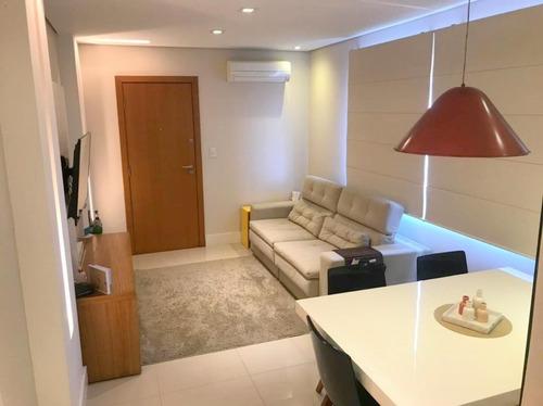 Apartamento Com 2 Dormitórios À Venda, 74 M² Por R$ 420.000,00 - Macuco - Santos/sp - Ap1524