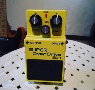 Super Overdrive Ds1 Boss Pedal Guitarra