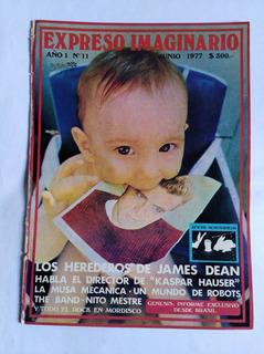 Revista Expreso Imaginario No 11 Con Mordisco Y Poster