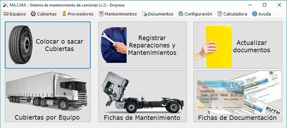 Software De Gestión Cubiertas Y Mantenimiento De Camiones.v2