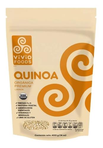 Quinoa Organica Premium - Vivio Foods Vegana - Fralugio
