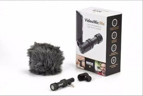 Microfone Direcional Rode Videomic Me iPhone iPad Trrs Vídeo