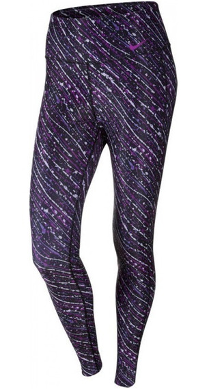 Calça Legging Feminina Nike Trainning Tight Roxa Original
