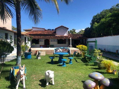 Imagem 1 de 18 de Casa Linear Em Terreno Inteiro, Com 520m², Em Área Nobre No Bairro Costazul, Em Rio Das Ostras. - 866 - 69409995
