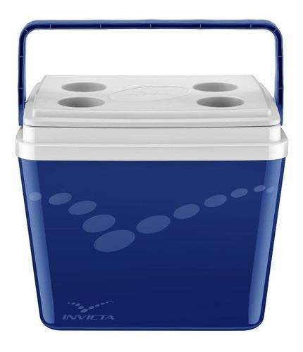 Caixa Térmica Invicta Pop 34l Incess Blue